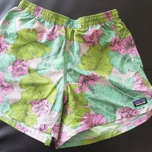 Patagonia Tropical Print Baggies Shorts
